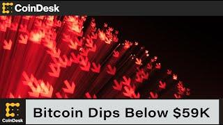 Bitcoin Dips Below $59K as Leverage Ratio, SHIB Rally Signal Excess Speculation
