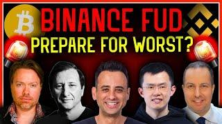 WHY THE BINANCE FUD COULD CAUSE A CRYPTO MARKET MELTDOWN!