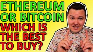 BUY BITCOIN OR BUY ETHEREUM? WHICH CRYPTO WILL HAVE THE BIGGEST GAINS IN 2021?