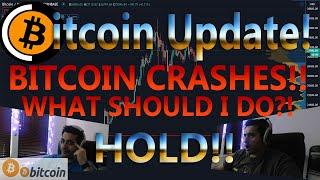BITCOIN DUMPS TO 30K - IS THE BTC PRICE CRASH DONE?! IMPORTANT NEWS AND ANALYSIS!!