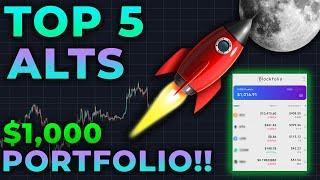 BEGINNERS WATCH NOW!! TOP 5 ALTCOINS FOR THE BEST LONG TERM PROFIT  PORTFOLIO 2020 - 2021