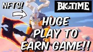 The BIGGEST Play To Earn Crypto Game YOU MUST KEEP YOUR EYES ON - Big Time Gameplay NFT & Presale