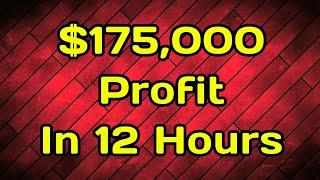 STORMGAIN - $175,000 Profit Trading Bitcoin In 12 Hours