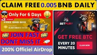Free Earn - New Free Bitcoin & Binance Coin BNB Earning Site | Without Invest  Daily 0.0015 BNB