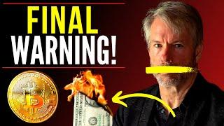FINAL WARNING! Michael Saylor Inflation Interview - Why Bitcoin is the Answer - Hyper Inflation!