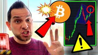URGENT WARNING to BITCOIN BULLS!!!!! IT'S HAPPENING NOW!!!! [but there's a catch]