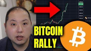 BITCOIN RALLY - THE PRESSURE HAS BEEN LIFTED