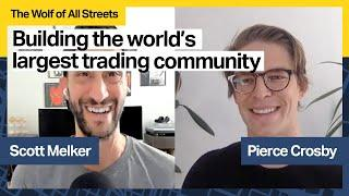 Building The World's Largest Trading Community  with Pierce Crosby, General Manager of TradingView