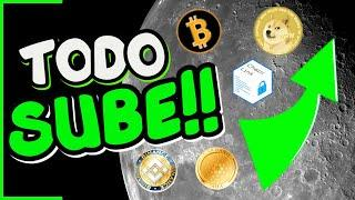 BITCOIN LA ADOPCION CONTINUA️️ | ETHEREUM - CHAINLINK - BNB - DOGECOIN MOONING