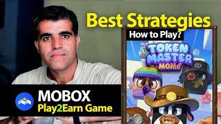 Best Techniques Tips Hacks| How to Play Mobox Master Token Earn to Play Free Blockchain Game MBox