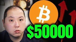 BITCOIN NEARS $50000 DOLLARS!!! HERE'S WHY!!!