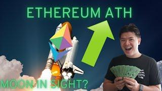 (Monday) Ethereum reaches ALL TIME HIGHS...MOON in SIGHT?