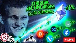 BITCOIN LIVE : ETHEREUM (ETH) ALL TIME HIGHS