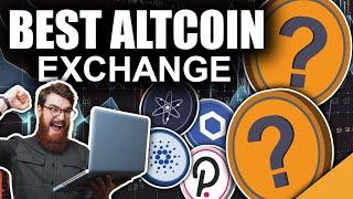 BEST Site to Buy Altcoins (#1 Top Exchange Guide 2021)