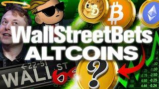 There's Only (1) ALTCOIN For WallStreetBets! Its Not Doge!!