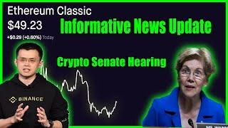 ETHEREUM CLASSIC AND BITCOIN HOLDING SUPPORT DESPITE THE FUD | ETC AND BTC NEWS UPDATE