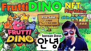 Frutti Dino New Upcoming NFT game Play to earn with massive potential 100x potential token (Tagalog)