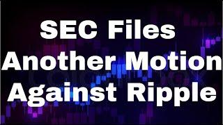 Xrp Ripple Xrp News Today Xrp Price Prediction [May] - SEC Files Another Motion Against Ripple