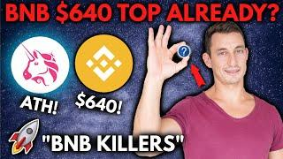 HAS BINANCE BNB PEAKED? UniSwap ATH, DeFi Altcoin Gems to Watch, CoinBase Greed!!
