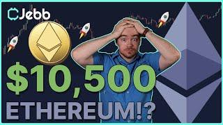 $10,500 Ethereum Price Prediction! - This Ethereum News Could CHANGE THE GAME For Adoption!!!