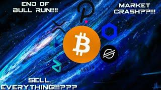 *ALERT * SELL EVERYTHING??? BITCOIN AND ETHEREUM DONE FOR ? END OF BULL RUN !!?? #BTC