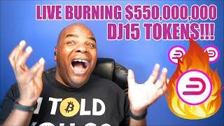 The BURNING of  $550'000'000 worth of DJ15 Live!!!!