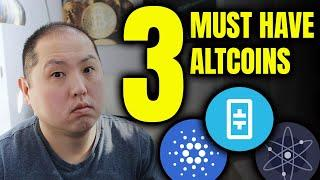 3 MUST HAVE ALTCOINS FOR JUNE