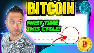 BITCOIN JUST TRIGGERED BULLISH INDICATOR! (FIRST TIME THIS BTC BULL CYCLE!)