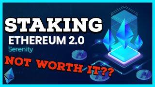 Staking Ethereum on ETH 2.0 with a Validator Node is NOT WORTH IT!