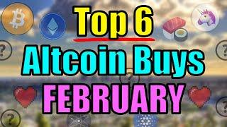 Top 6 Altcoins Set to EXPLODE in FEBRUARY 2021 | Best Cryptocurrency Investments | Ethereum News