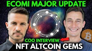Bullish Future Ahead for $OMI and Ecomi! Major Crypto Updates | Interview with COO, Dan Crothers