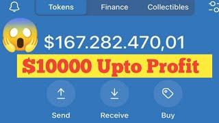 $10000 Upto Profit Only $10  Biggest Loot 2021  Airdrop Live