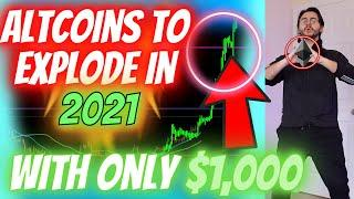 TOP ALTCOINS IN 2021 FOR *MAXIMUM GAINS*?! - IF YOU ONLY HAVE A SMALL AMOUNT TO INVEST?? (Part 1)