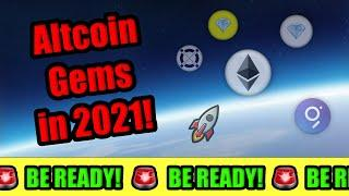HURRY! THESE ALTCOIN GEMS TO DELIVER LIFE CHANGING WEALTH  BEST CRYPTOCURRENCY INVESTMENTS 2021