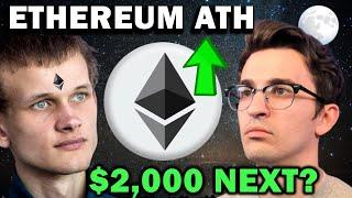 ETHEREUM ALL-TIME HIGH!!! $2,000 ETH NEXT?