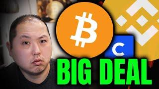 BITCOIN PUMPS HIGHER!!! WHY COINBASE'S IPO IS A BIG DEAL FOR BINANCE!!!