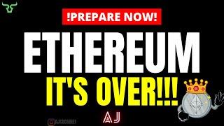ETHEREUM IT'S OVER!!! Prepare For This Is Set To Be The Most Bullish Asset In The Market!