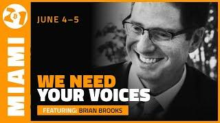 We Need You to Prevent FUD   Brian Brooks   Bitcoin 2021 Clips