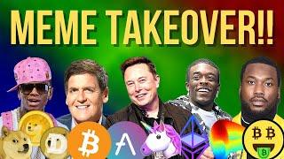 MEMES TAKING OVER THE CRYPTO MARKETS!!!