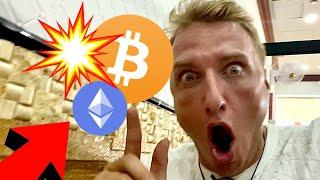 I AM TAKING EXTREME  ACTIONS ON MY BITCOIN & ETHEREUM TRADE NOW!!!!!!!!!!!!!!!!