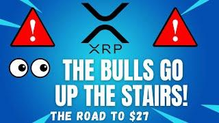 THE BULLS GO UP THE STAIRS!  - RIPPLE XRP PRICE PREDICTION! - RIPPLE XRP 2021 - RIPPLE ANALYSIS