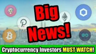 Big Things Happening in Cryptocurrency April 2021!   Best Altcoin Investment Opportunity RIGHT NOW