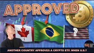 STATE BANK IN BRAZIL APPROVES CRYPTO ETF. WHEN U.S. ?
