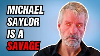Michael Saylor Will Never Stop Buying Bitcoin. Here Is Why.