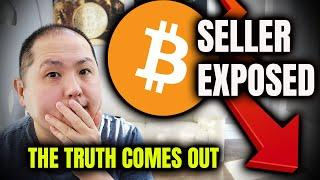 BITCOIN SELL-OFF EXPOSED - GUILTY PARTY REVEALED AND WE NEED TO STOP IT!!!