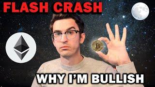 CRYPTO FLASH CRASH and Why This Is Bullish!