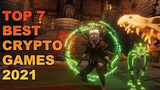 Top 7 Crypto NFT Games  | Play to Earn Crypto Blockchain Games