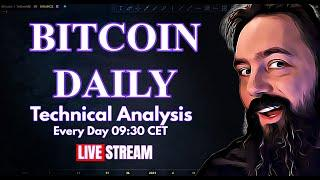 ARE WE GONNA BREAK DOWN NOW? - Bitcoin Daily Analysis & Price Prediction.
