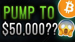 [LIVE] THE $50,000 BITCOIN PUMP IS HAPPENING RIGHT NOW!! DON'T MISS THIS SIGN...