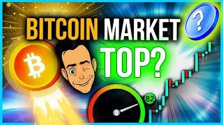 WHERE IS THE BITCOIN MARKET TOP?? (WE KNOW)